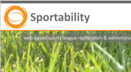 Closeup of new Sportability web design