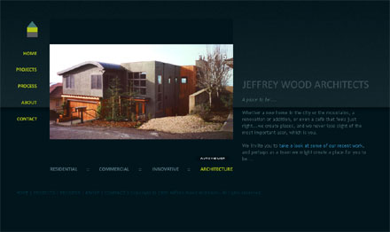 Jeffrey Wood Architects website