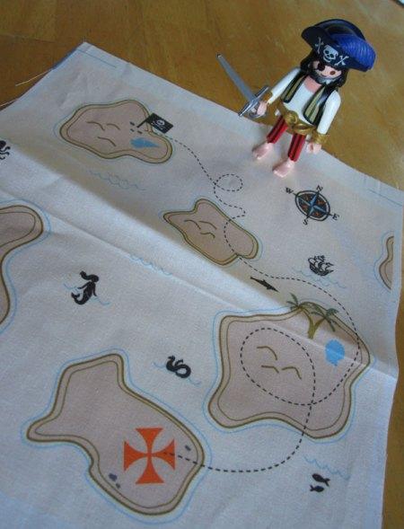 Treas-arrrh! fabric available at Spoonflower